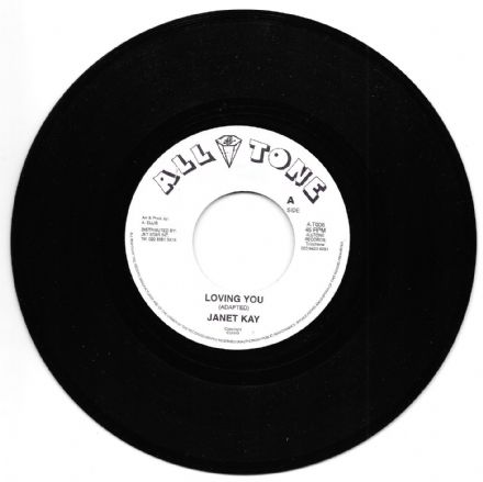 Janet Kay - Loving You / Jo Jo Bennett - Version (All Tone) 7""